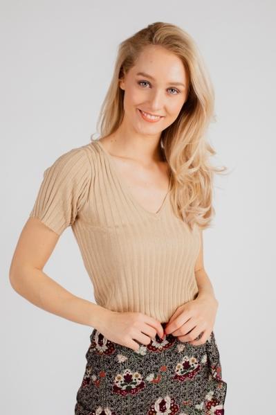 Your Essentials Shirt / Top Beige Vera
