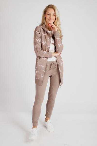 Zoso Midi-jurken Beige TINA
