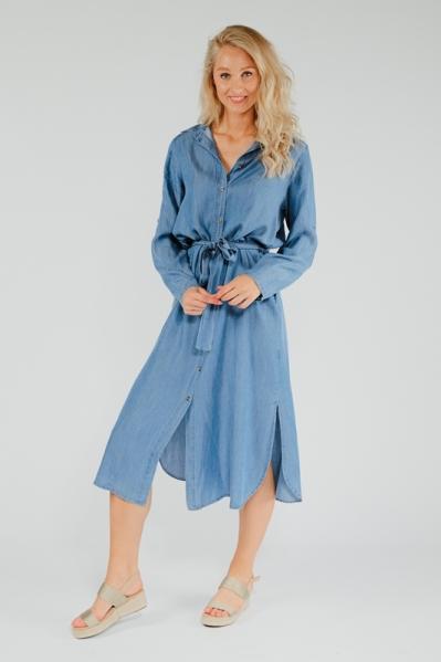 Ambika Maxi-jurk Blauw 10421
