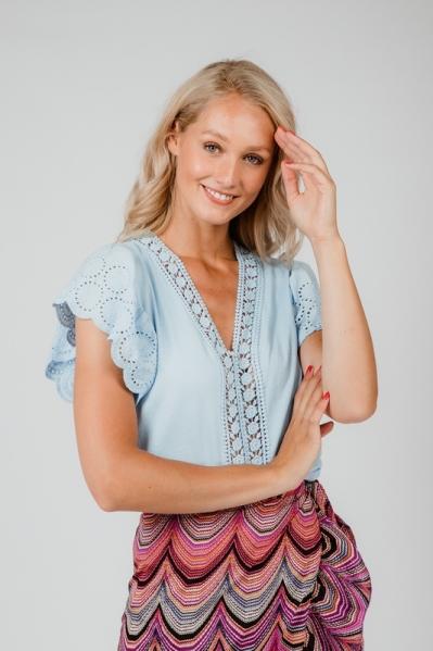 Ambika Shirt / Top Blauw K0222