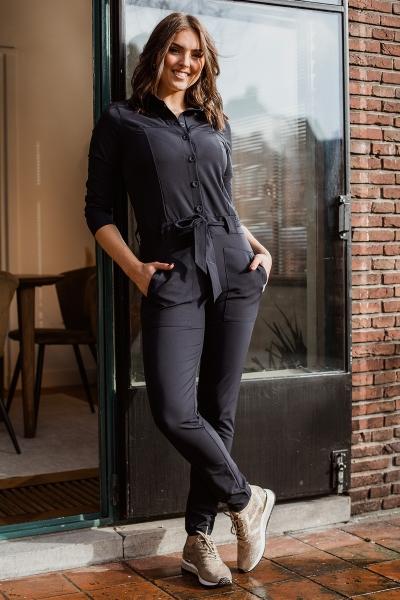 &Co Woman Jumpsuit Blauw Pleun