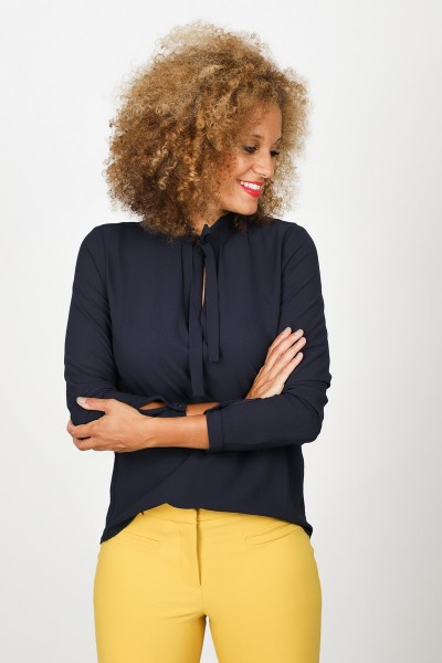 &Co Woman Shirt / Top Blauw Eef