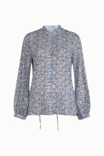 Geisha Shirt / Top Blauw 13128-14