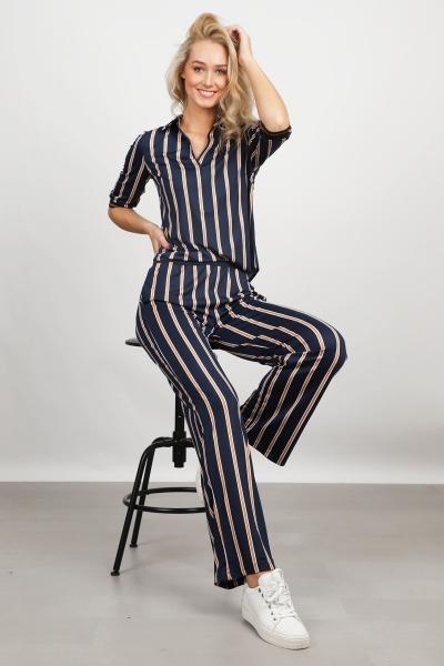 K-Design Jumpsuit Blauw Q822