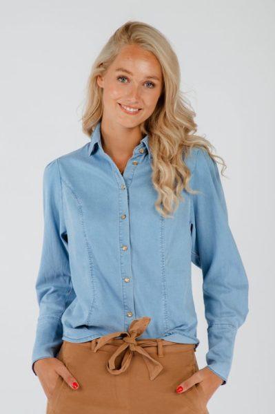 Tramontana Blouse Blauw Q10-01-302