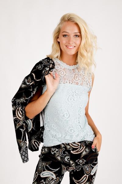 Tramontana Shirt / Top Blauw C11-96-301