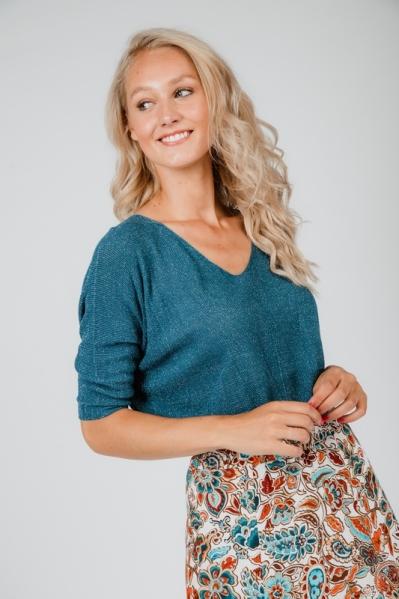 Typical Jill trui Blauw Sofie shine