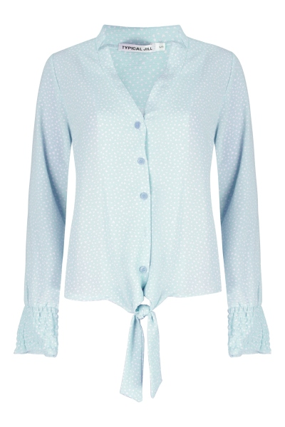 Typical Jill Blouse Blauw Monique