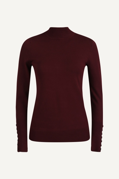 Your Essentials Shirt / Top Bordeaux Anna