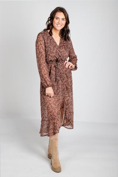 Ambika Maxi-jurken Brique Reign
