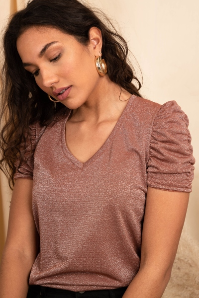 Femme9 Shirt / Top Brique Dya