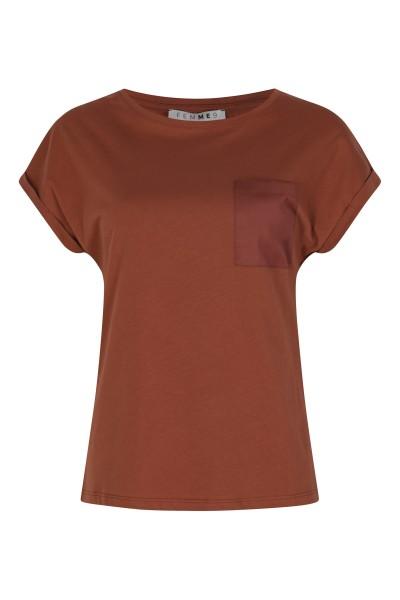 Femme9 Shirt / Top Brique Clairy