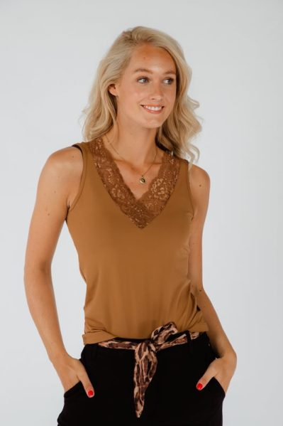 Tramontana Shirt / Top Bruin PIPPA 21AW1