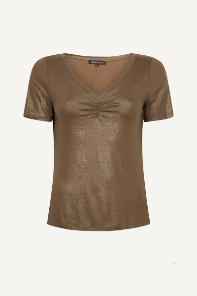 Tramontana Shirt / Top Bruin D17-96-401