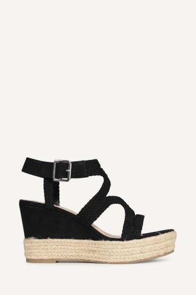 Sandaal slee zwart zwart