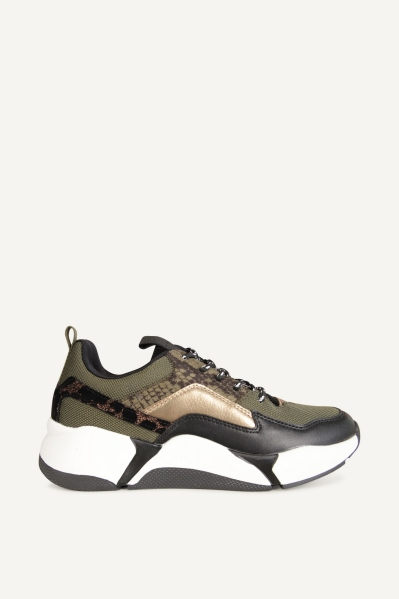 Sneaker army zwart army