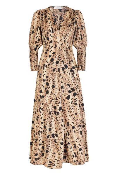 Ambika Maxi-jurken Camel Towny