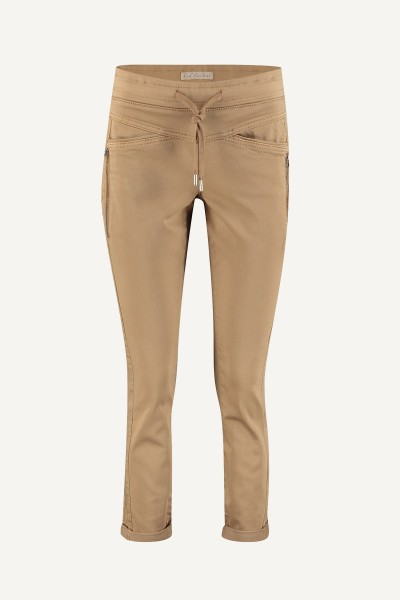 Red Button Broek Camel Tessy