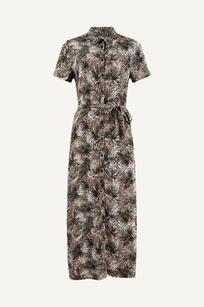 Lange jurk multi