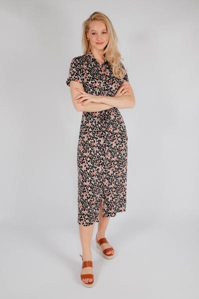 Lange jurk print multi
