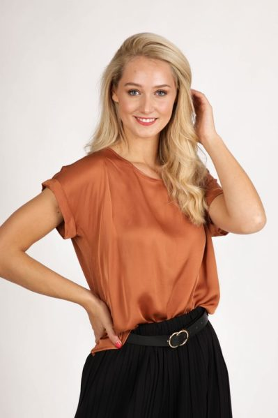 Ambika Shirt / Top Cognac 33171