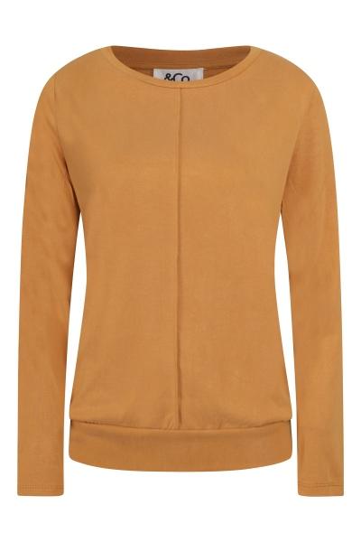 &Co Woman Shirt / Top Cognac Lola