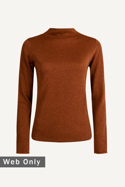 Esqualo Shirt / Top Cognac F20.03521