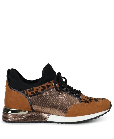 La Strada Sneaker Cognac 1900356