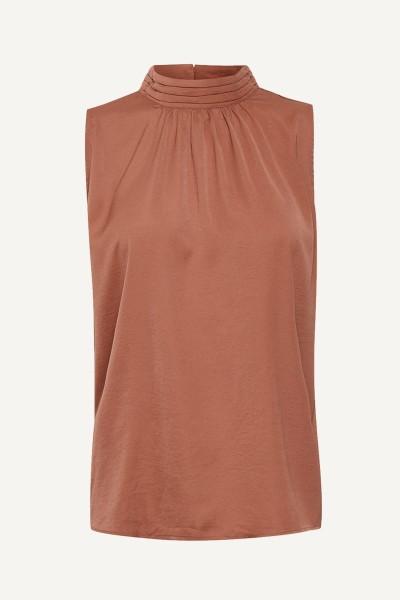 Saint Tropez Shirt / Top Cognac Aileen