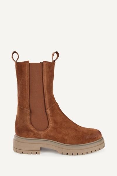 Shoecolate Chelsea boot Cognac 8.20.08.850