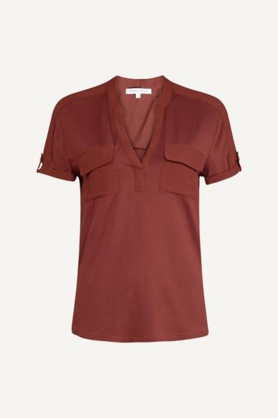 Tramontana Shirt / Top Cognac C27-98-401
