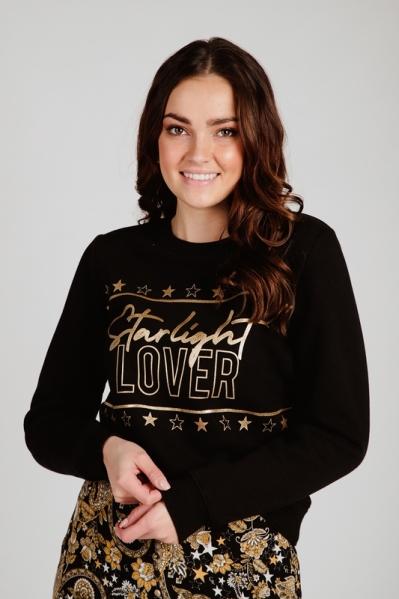 Lover sweater zwart