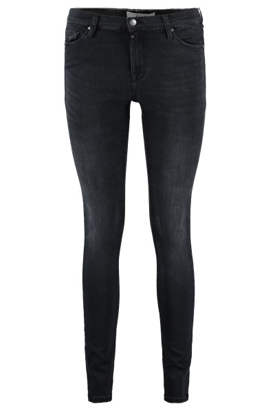 Black vintage 5-pocket skinny  black denim