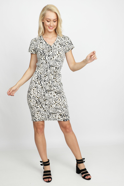 &Co Woman Jurk Dierenprint Lola Dress