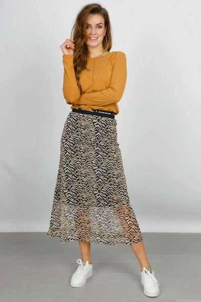 &Co Woman Rok Dierenprint Lisa skirt