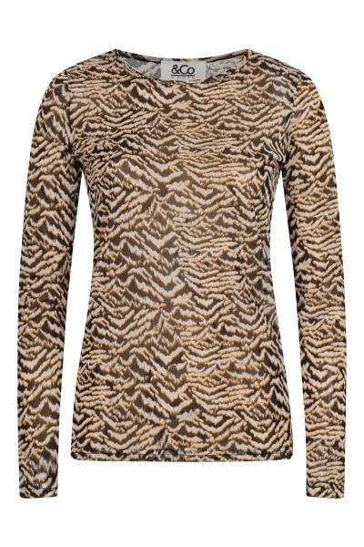 &Co Woman Shirt / Top Dierenprint Lisa