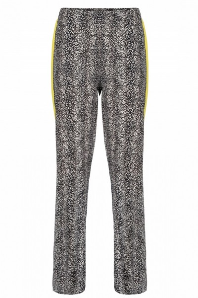 &Co Woman Broek Dierenprint Roos Pants