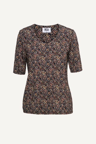 &Co Woman Shirt / Top Dierenprint Lovi