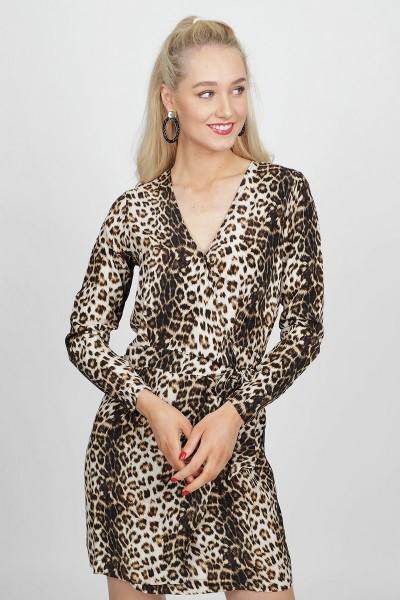 Freebird Jurk Dierenprint Kae leopard