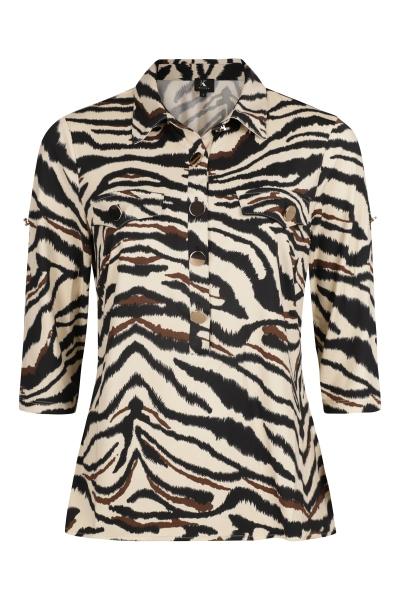 K-Design Shirt / Top Dierenprint Q808