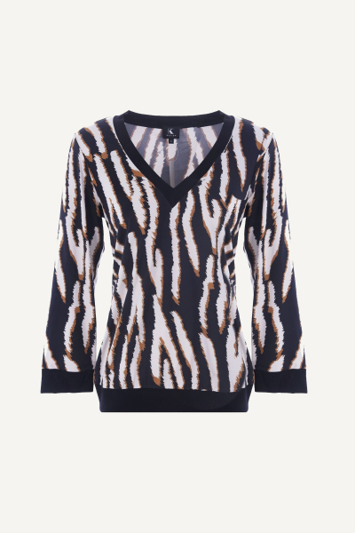 K-Design Blouse Dierenprint R827