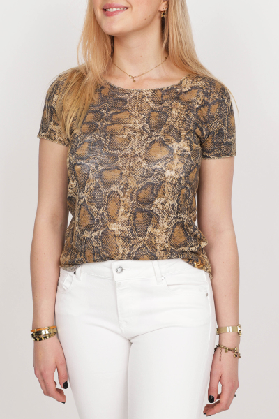 Key Largo Shirt / Top Dierenprint WT Reptile