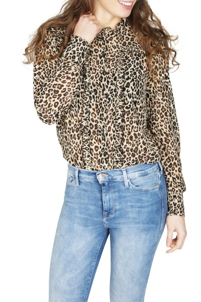 Typical Jill Blouse Dierenprint Micha