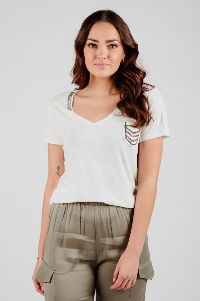 Esqualo Shirt / Top Ecru SP21.30000