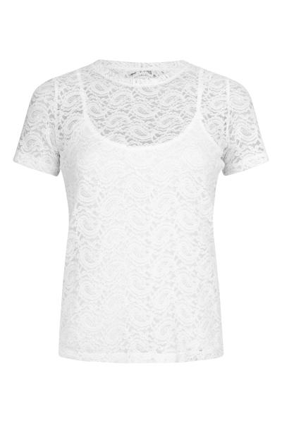 Femme9 Shirt / Top Ecru Dafne