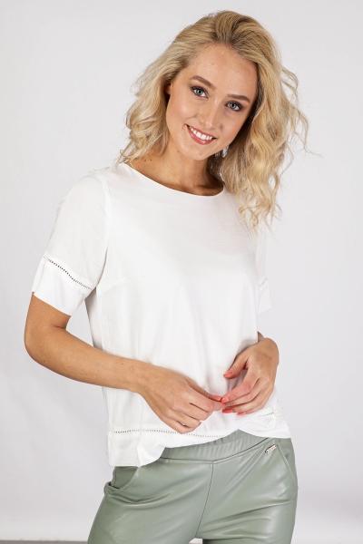 ICHI Shirt / Top Ecru Ihfernando SS