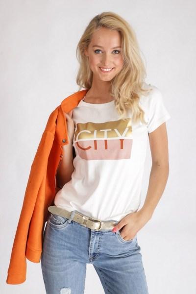 Tramontana Shirt / Top Ecru I04-94-403