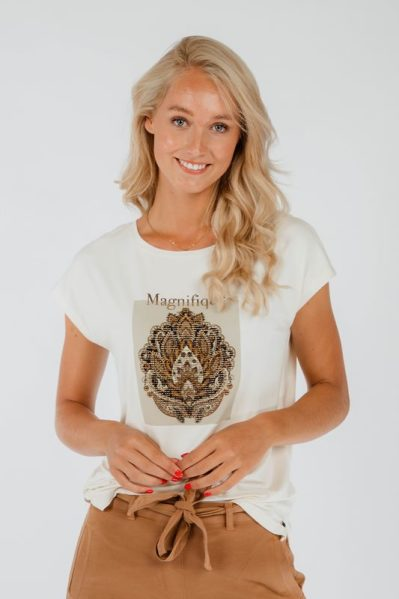 Tramontana Shirt / Top Ecru I02-01-401