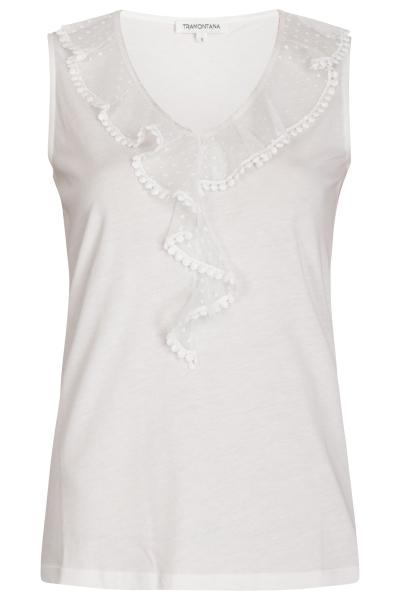 Tramontana Shirt / Top Ecru D17-94-402