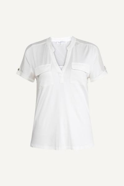 Tramontana Shirt / Top Ecru C27-98-401